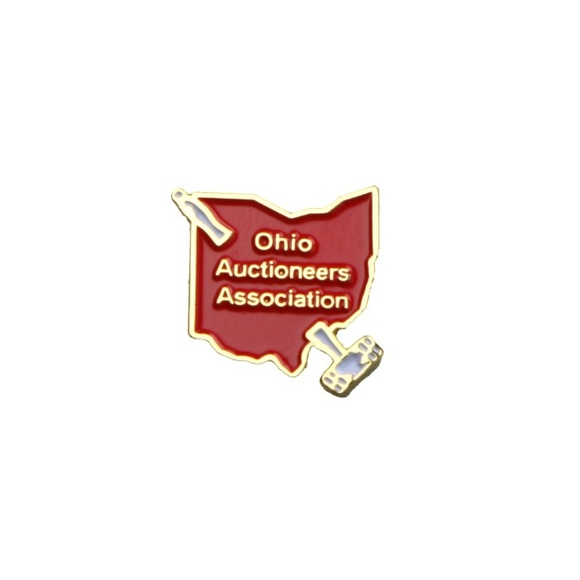 Jewelry - Ohio Auctioneers Association Small Lapel Pin